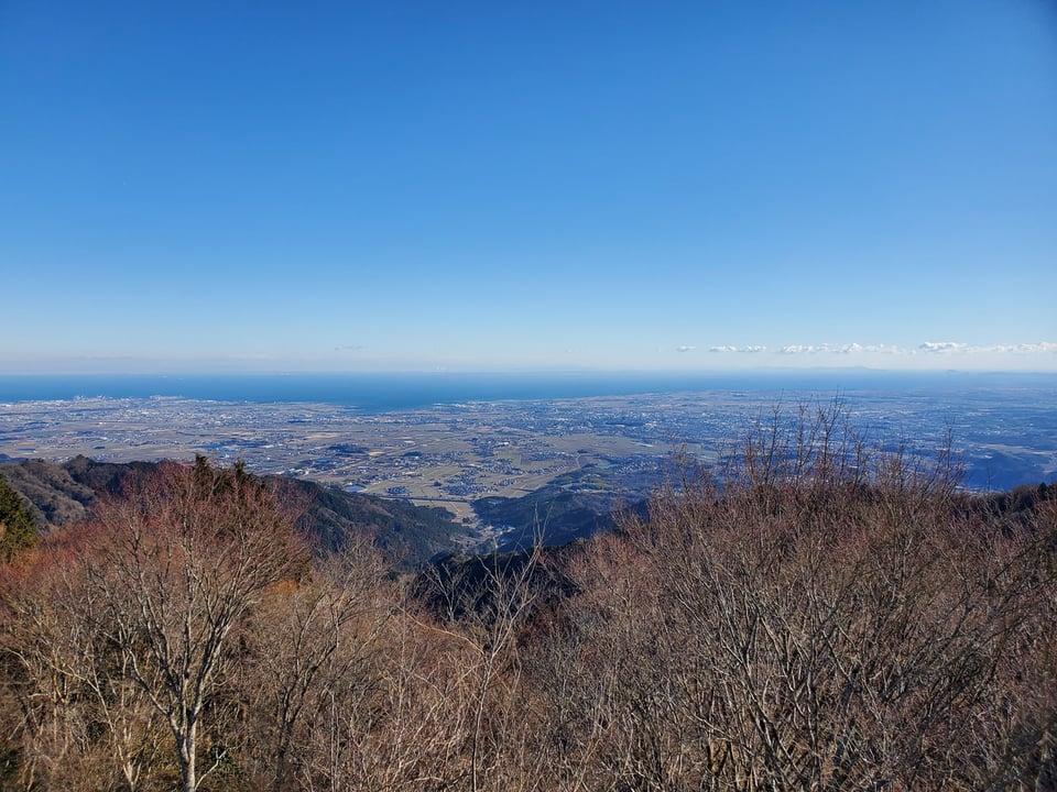 富士が見える角度(掘坂山)