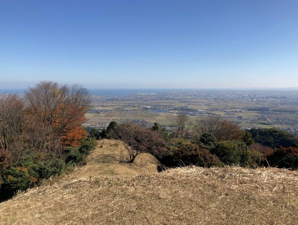 阿坂城跡頂上2